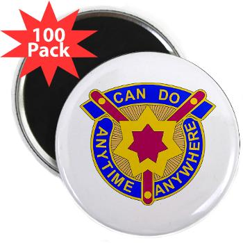 377SC - M01 - 01 - DUI - 377th Sustainment Command - 2.25 Magnet (100 pack)