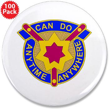 "377SC - M01 - 01 - DUI - 377th Sustainment Command - 3.5"" Button (100 pack)"