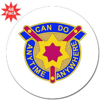 "377SC - M01 - 01 - DUI - 377th Sustainment Command - 3"" Lapel Sticker (48 pk)"