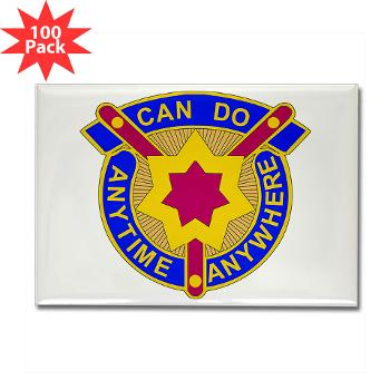 377SC - M01 - 01 - DUI - 377th Sustainment Command - Rectangle Magnet (100 pack)
