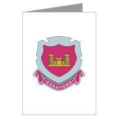38EC - M01 - 02 - DUI - 38th Engineer Company - Greeting Cards (Pk of 10)
