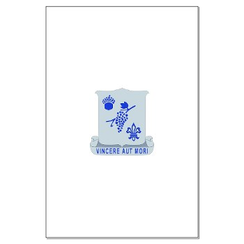 3B289RCSCSS - M01 - 02 - DUI - 3rd Battalion - 289th Regiment (CS/CSS) Large Poster