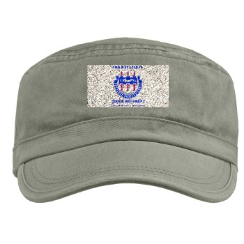 3B290RCSCSS - A01 - 01 - DUI - DUI - 3rd Bn - 290th Regiment (CS/CSS) with text - Military Cap
