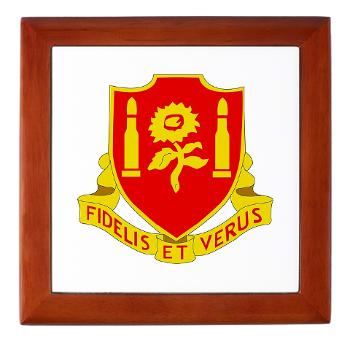 3B29FAR - M01 - 03 - DUI - 3rd Battalion - 29th Field Artillery Regiment - Keepsake Box