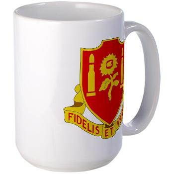 3B29FAR - M01 - 03 - DUI - 3rd Battalion - 29th Field Artillery Regiment - Large Mug