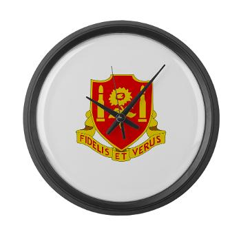3B29FAR - M01 - 03 - DUI - 3rd Battalion - 29th Field Artillery Regiment - Large Wall Clock