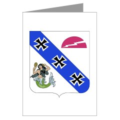 3B309IR - M01 - 02 - DUI - 3rd Battalion - 309th Infantry Regiment (CS/CSS) Greeting Cards (Pk of 10)
