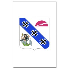 3B309IR - M01 - 02 - DUI - 3rd Battalion - 309th Infantry Regiment (CS/CSS) Mini Poster Print