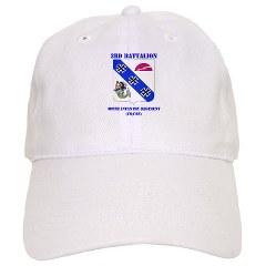 3B309IR - A01 - 01 - DUI - 3rd Battalion - 309th Infantry Regiment (CS/CSS) with Text Cap