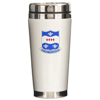 3B312RTS - M01 - 03 - DUI - 3rd Bn - 312th Regt (TS) Ceramic Travel Mug
