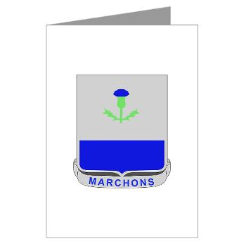 3B338RCSCSS - M01 - 02 - DUI - 3rd Bn- 338th Regiment CS/CSS Greeting Cards (Pk of 10)
