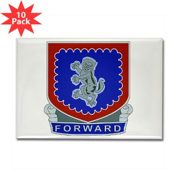 3B340IR - M01 - 01 - DUI - 3rd Bn - 340th Infantry Regiment Rectangle Magnet (10 pack)
