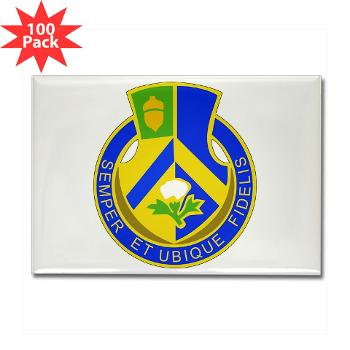 3B346R - M01 - 01 - DUI - 3rd Bn - 346 Regijment (CSS) Rectangle Magnet (100 pack)