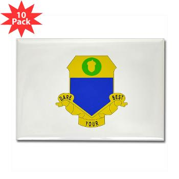 3B347R - M01 - 01 - DUI - 3rd Bn - 347th Regt (CS/CSS) Rectangle Magnet (10 pack)