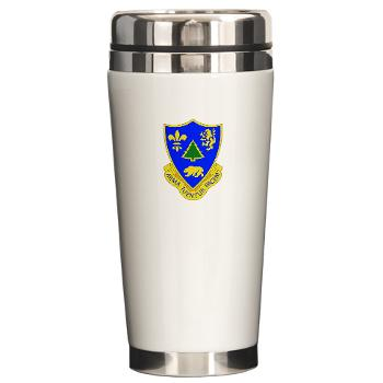 3B362AR - M01 - 03 - DUI - 3rd Bn - 362nd Armor Regiment Ceramic Travel Mug