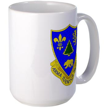 3B362AR - M01 - 03 - DUI - 3rd Bn - 362nd Armor Regiment Large Mug