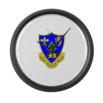 3B362AR - M01 - 03 - DUI - 3rd Bn - 362nd Armor Regiment Large Wall Clock