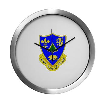 3B362AR - M01 - 03 - DUI - 3rd Bn - 362nd Armor Regiment Modern Wall Clock