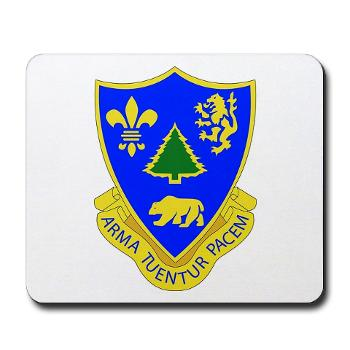 3B362AR - M01 - 03 - DUI - 3rd Bn - 362nd Armor Regiment Mousepad