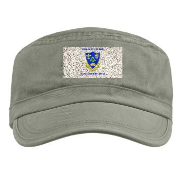 3B362AR - A01 - 01 - DUI - 3rd Bn - 362nd Armor Regiment with Text Military Cap