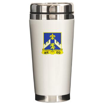 3B363RCSCSS - M01 - 03 - DUI - 3rd Battalion - 363rd Regiment (CS/CSS) - Ceramic Travel Mug