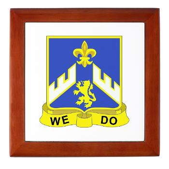 3B363RCSCSS - M01 - 03 - DUI - 3rd Battalion - 363rd Regiment (CS/CSS) - Keepsake Box