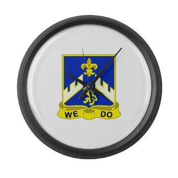 3B363RCSCSS - M01 - 03 - DUI - 3rd Battalion - 363rd Regiment (CS/CSS) - Large Wall Clock