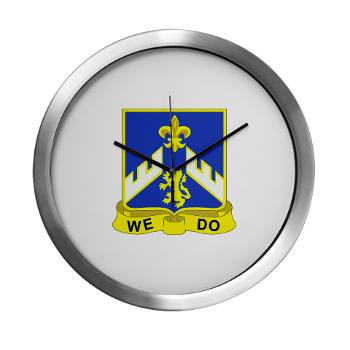 3B363RCSCSS - M01 - 03 - DUI - 3rd Battalion - 363rd Regiment (CS/CSS) - Modern Wall Clock