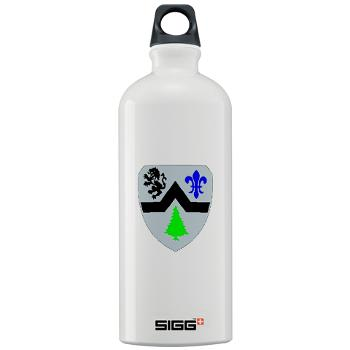 3B364ER - M01 - 03 - DUI - 3rd Battalion - 364th Engineer Regiment - Sigg Water Bottle 1.0L