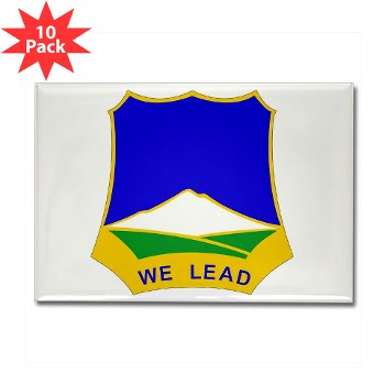 3B382RLS - M01 - 01 - DUI - 3rd Battalion, 382nd Regiment (Logistics Support) - Rectangle Magnet (10 pack)