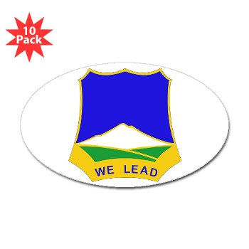 3B382RLS - M01 - 01 - DUI - 3rd Battalion, 382nd Regiment (Logistics Support) - Sticker (Oval 10 pk)