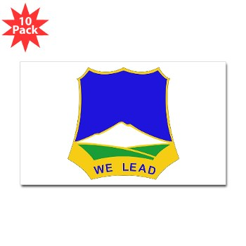 3B382RLS - M01 - 01 - DUI - 3rd Battalion, 382nd Regiment (Logistics Support) - Sticker (Rectangle 10 pk)
