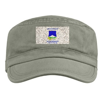 3B382RLS - A01 - 01 - DUI - 3rd Battalion, 382nd Regiment (Logistics Support) with Text - Military Cap
