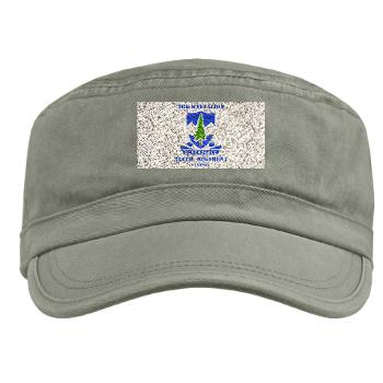 3B383RCSCSS - A01 - 01 - DUI - 3rd Battalion - 383rd Regiment (CS/CSS) with Text - Military Cap