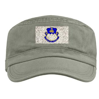 3B411R - A01 - 01 - DUI - 3rd Bn - 411th Regt (LS) - Military Cap