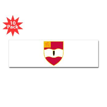 3B82FAR - M01 - 01 - DUI - 3rd Bn - 82nd FA Regt - Sticker (Bumper 10 pk)