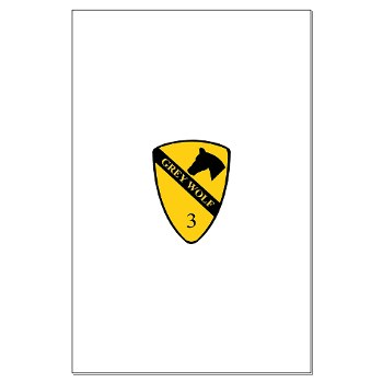 3BCT - M01 - 02 - DUI - 3rd Infantry BCT - Grey Wolf - Large Poster