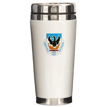 3BCTSTB - M01 - 03 - DUI - 3rd Brigade Combat Team - Special Troops Battalion - Ceramic Travel Mug