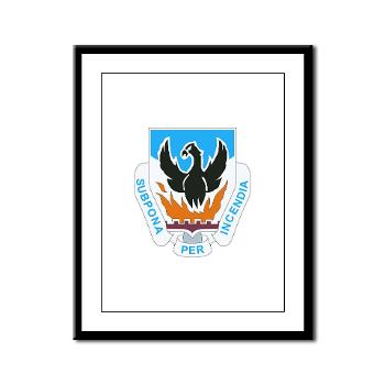 3BCTSTB - M01 - 02 - DUI - 3rd Brigade Combat Team - Special Troops Battalion - Framed Panel Print