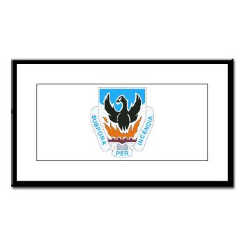 3BCTSTB - M01 - 02 - DUI - 3rd Brigade Combat Team - Special Troops Battalion - Small Framed Print