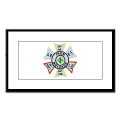 3IBCTS - M01 - 02 - DUI - 3rd Infantry Brigade Combat Team - Striker - Small Framed Print