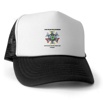 3IBCTS - A01 - 02 - DUI - 3rd Infantry Brigade Combat Team - Striker with Text - Trucker Hat