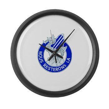 03ID - M01 - 03 - DUI - 3rd Infantry Division Large Wall Clock