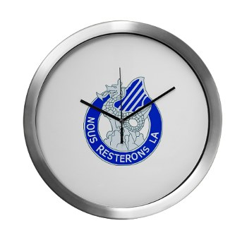03ID - M01 - 03 - DUI - 3rd Infantry Division Modern Wall Clock
