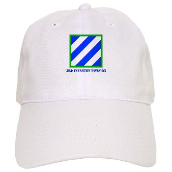 3ID - A01 - 01 - SSI - 3rd Infantry Division with Text Cap