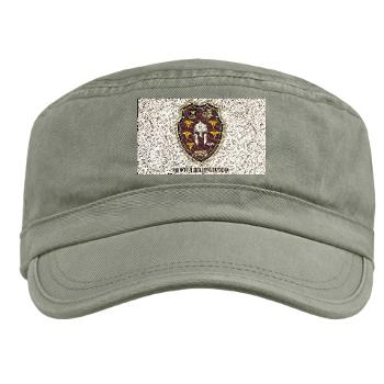 3MRB - A01 - 01 - DUI - 3rd Medical Recruiting Bn with Text Military Cap