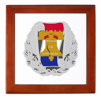 3RBCRB - M01 - 03 - SSI - Chicago Recruiting Battalion - Keepsake Box