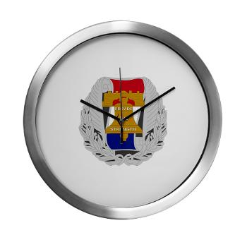 3RBCRB - M01 - 03 - SSI - Chicago Recruiting Battalion - Modern Wall Clock