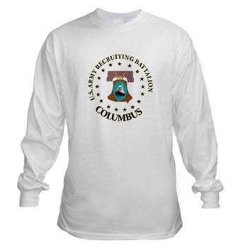 3RBCRBN - A01 - 03 - DUI - Columbus Recruiting Battalion - Long Sleeve T-Shirt