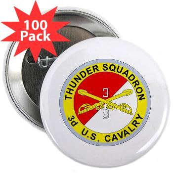 "3S3ACR - M01 - 01 - DUI - 3rd Sqdrn - 3rd ACR 2.25"" Button (100 pack)"